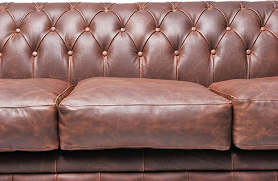 Chesterfield Original Brighton 3-zits Vintage Bruin