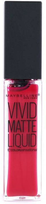 Maybelline Vivid Matte Liquid - 30 Fuchsia Ecstacy - Roze - Lippenstift