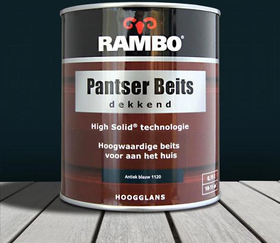 Rambo Pantser Beits 750ml Antiek Blauw 1120