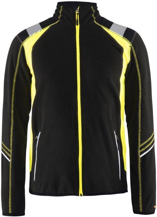 Blaklader 49931010 Microfleecevest Visible   Fleece vest
