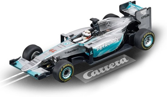 Carrera Digital 143 Racebaan Auto Mercedes F1 W06 L.hamilton