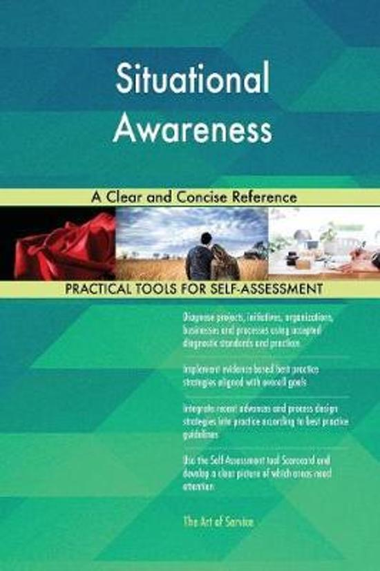 Situational Awareness a Clear and Concise Reference