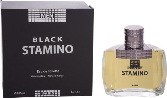 PERFECT CADEAU Stamino Black Heren Parfum in luxe doos (houtachtige sterke geur)