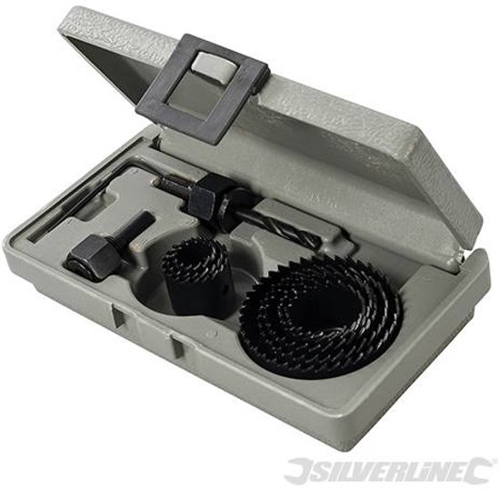 Bekend bol.com | Silverline 11-delige gatenzaag set 19 - 64 mm QQ87