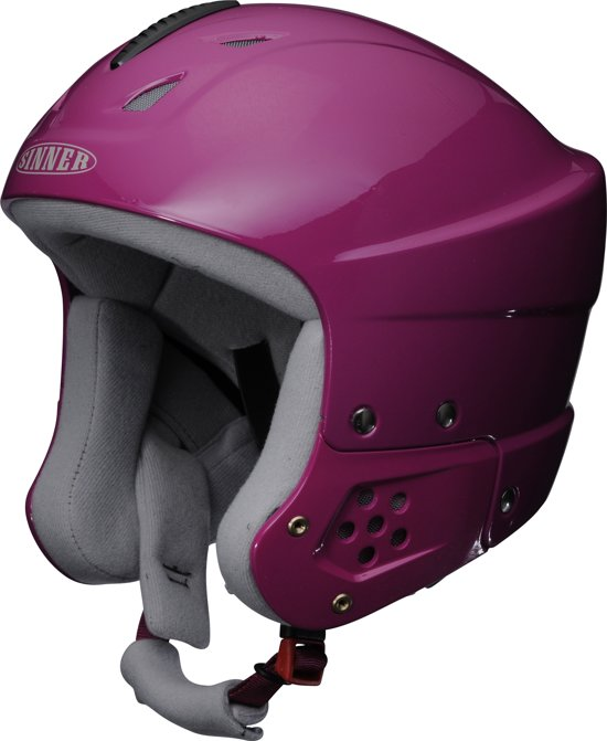 Sinner Rodeo - Skihelm - Junior - 55-58 cm / S/M - Roze