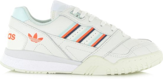 adidas A.R. Trainer Heren Sneakers - Cloud White/Ice Mint/Solar Orange -  Maat 43.5