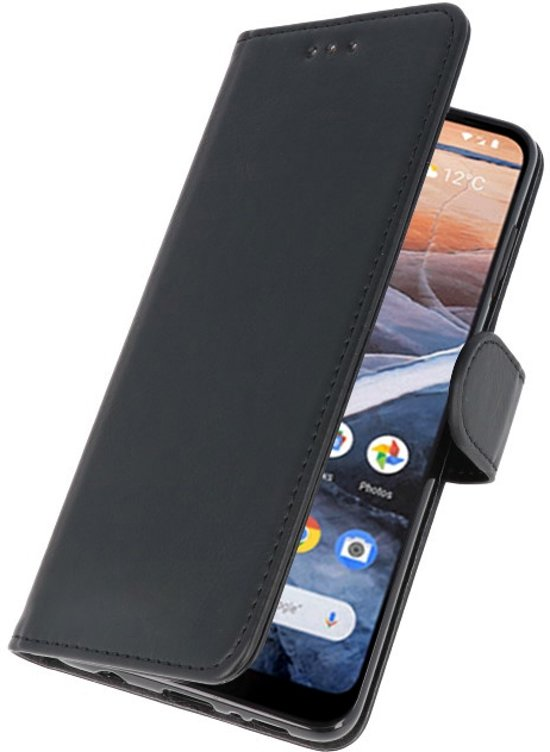 Wicked Narwal | bookstyle / book case/ wallet case Wallet Cases Hoesje voor Nokia 3.2 Zwart