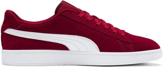 Puma Sneakers Maat 44.5 Mannen bordeauxroodwit