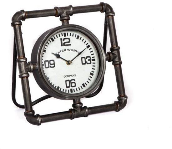 Tafelklok Waterleiding - 30x5xH30 cm