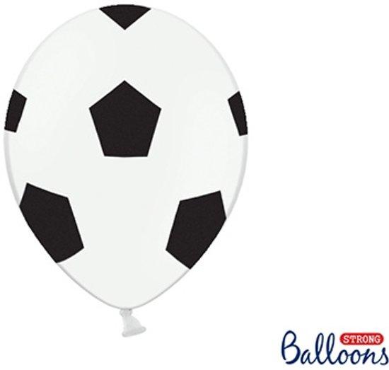 Ballonnen Voetbal (6 stuks)