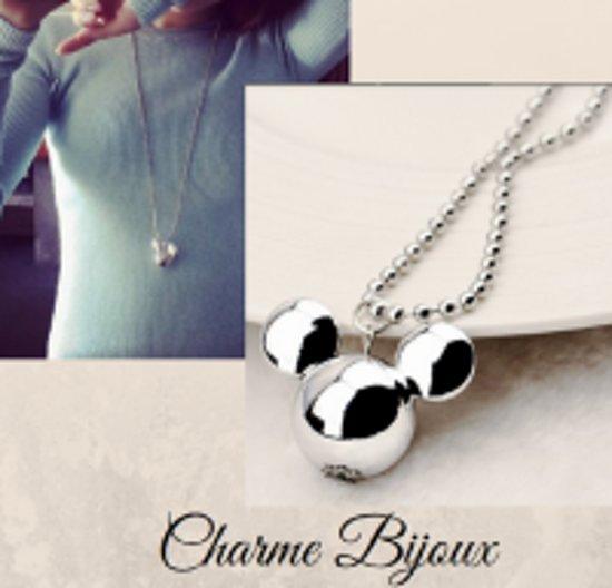 Charme Bijoux®Mickey Mouse lange ketting- Kunststof