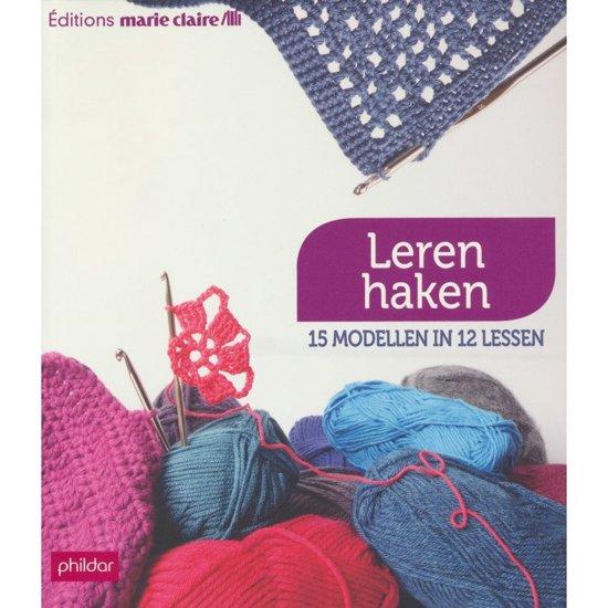 Bolcom Leren Haken Phildar Marie Claire 3307673563502 Boeken