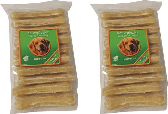 Hondenknook Zak à 10 geperste botten van 8,5 cm 2 Zakken