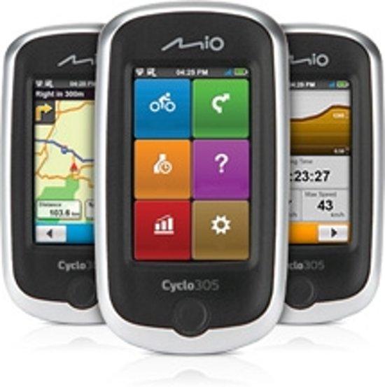 Mio Cyclo 305 HC - Fietsnavigatie - 3 inch scherm