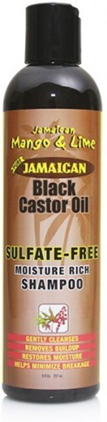 Jamaican Mango & Lime Black Castor Oil Sulfate Free Shampoo 236 ml
