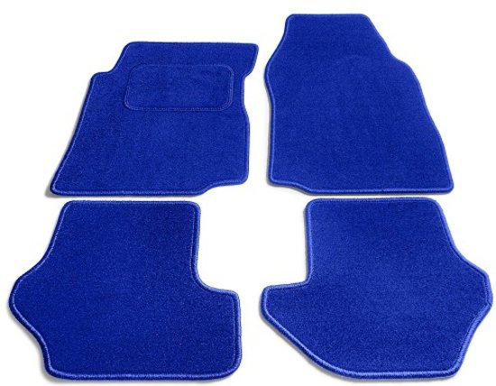 PK Automotive Complete Velours Automatten Lichtblauw Hyundai Accent 2006-2009