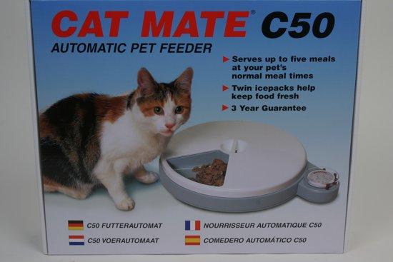 Catmate C50 - Voederautomaat - 5 porties