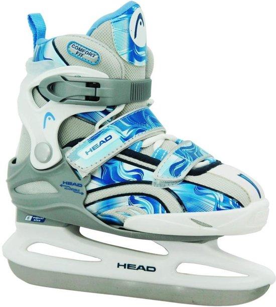 Head Ijshockeyschaatsen Missy Junior Blauw/wit Maat 26-31