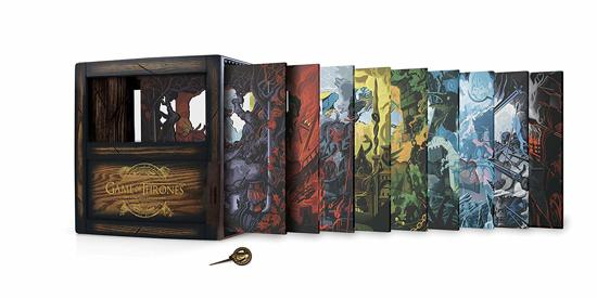 DVD cover van Game of Thrones - Seizoen 1 t/m 8 (Blu-ray) (Collectors Edition) (Limited Edition) (Exclusief bij bol.com)