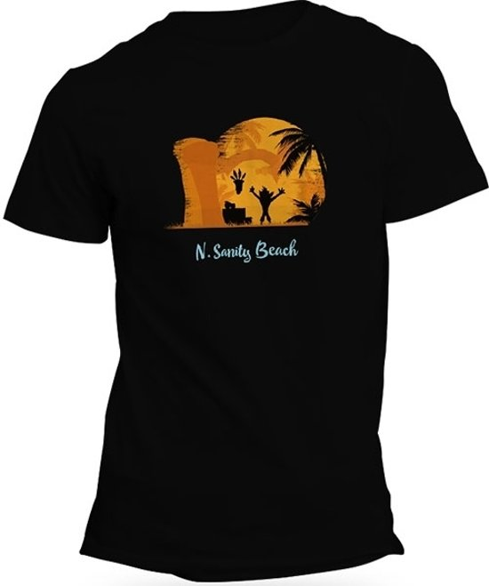 Crash Bandicoot T-Shirt - N. Sanity Beach (Maat S)