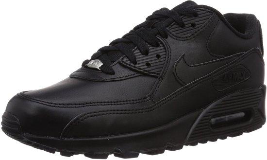 watch 81aa5 81387 Nike Air Max 90 leer heren sneakers - zwart - Maat 40