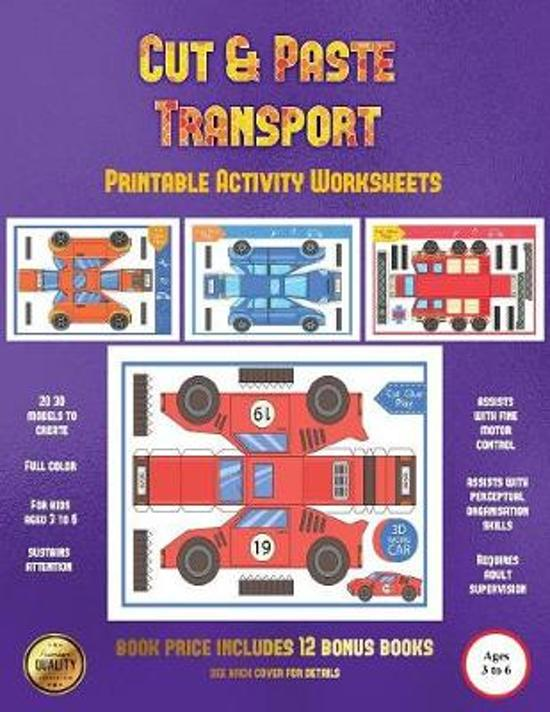 Printable Activity Worksheets (Cut and Paste Transport)