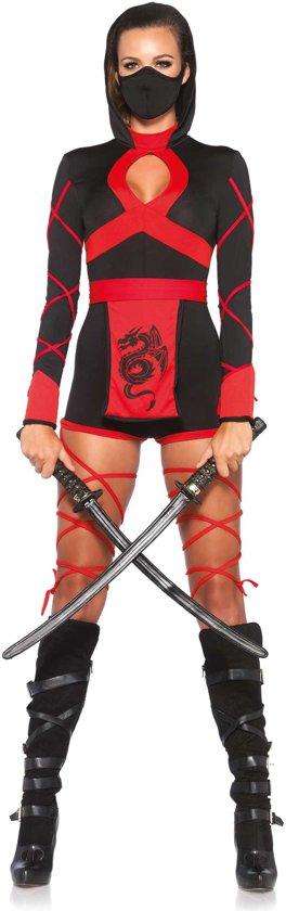 Carnavalskleding Ninja Dames.Bol Com Sexy Ninja Kostuum Voor Dames Verkleedkleding Medium