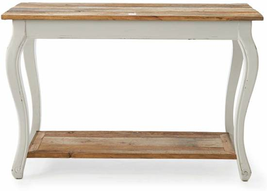 Witte Houten Sidetable.Riviera Maison Driftwood Side Table Bijzettafel 120 X 50 Cm Wit Hout