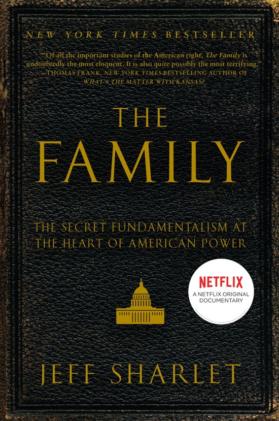 Boek cover The Family van Jeff Sharlet (Onbekend)