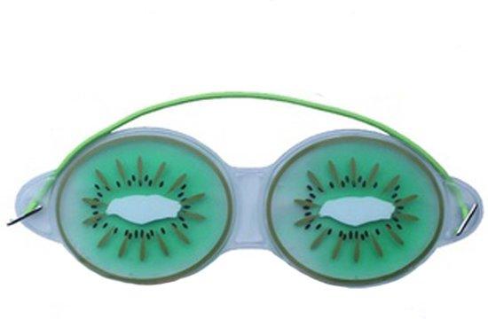 Premium Kiwi Oog Masker met Verkoelende Gel   Verkoelend voor de Vermoeide Ogen en Verwijdert Wallen   Anti Rimpel en Wallen Verwijderaar   Oogmasker met Koelende Gel   Eye Gel Mask