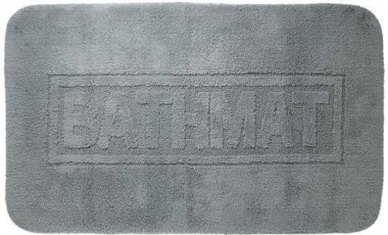 Sealskin Badmat 60x100.Sealskin Bathmat Badmat 60x100 Cm Donkergrijs