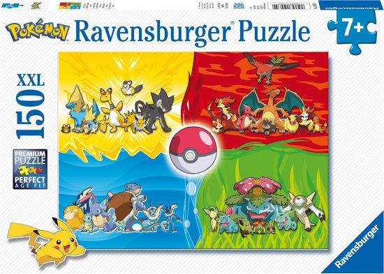 Afbeelding van Ravensburger Verschillende Pokémons puzzel - legpuzzel - 150 stukjes
