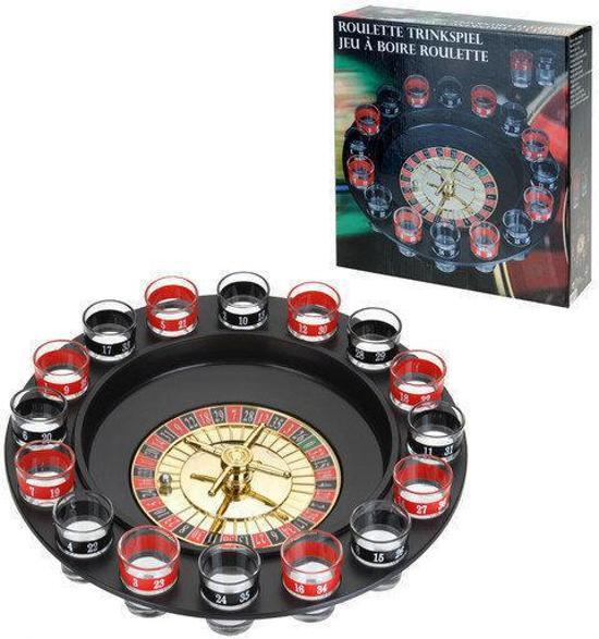 Afbeelding van het spel Drinkspel roulette
