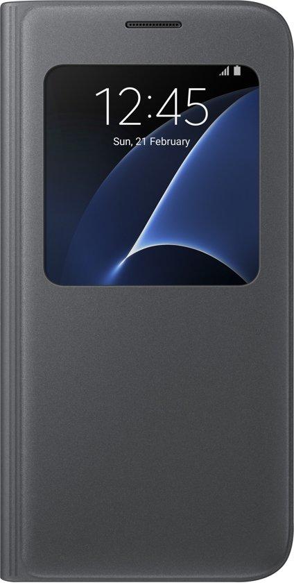 100% authentic 77dcd ee717 Samsung S View Cover voor Samsung Galaxy S7 - Zwart