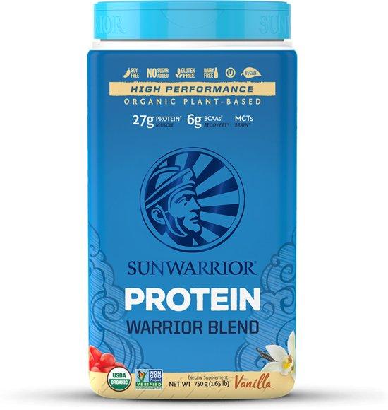 Sunwarrior Warrior Blend Proteïne Vanille - 750 gram