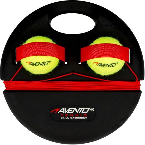 Avento Tennis Trainer - Zwart/Fluorgeel