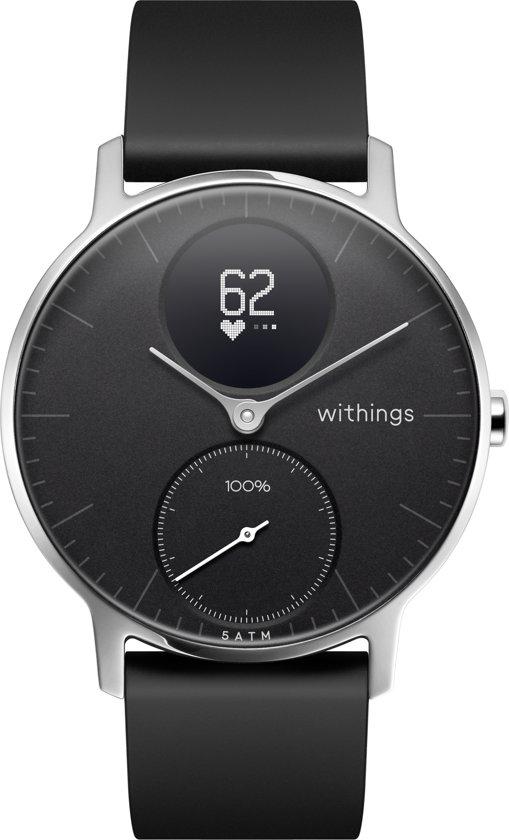 Nokia Steel HR - Smartwatch - Zwart - 36mm