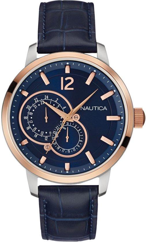 Nautica nct-15 multi NAI16501G Mannen Quartz horloge