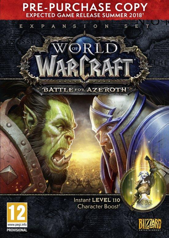 World of Warcraft: Battle for Azeroth (Add-On) PC (Pre-Purchase versie)