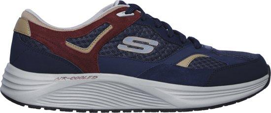 47 Navy Red Skyline 5 Skechers Maat Heren Alphaborne Sneakers qx0wwnF