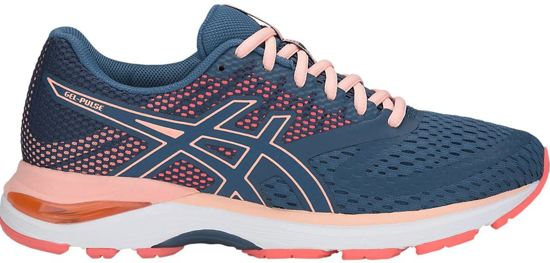 Asics Gel-Pulse Sportschoenen Dames - Grand Shark / Bakedpink - Maat 38