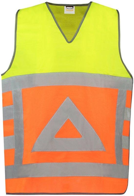 Tricorp Tabard verkeersregelaar/veiligheidsvest - Workwear - 453001 - Fluor Oranje-Geel - maat L