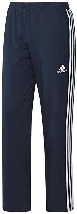 Adidas T16 Trainingsbroek Heren Blauw/wit Maat Xxl