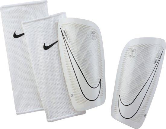Nike Mercurial Lite scheenbeschermers  ScheenbeschermerVolwassenen - wit/zwart Maat L