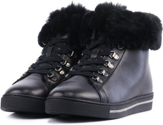 Lina 8773 39 Sneakers Vrouwen 52 Maat Locchi Zwart wr6zUxq4wg