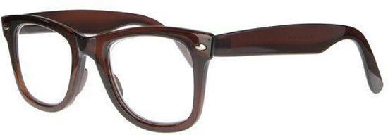 Icon Eyewear KCA300 City Leesbril +1.00 - Helder bruin
