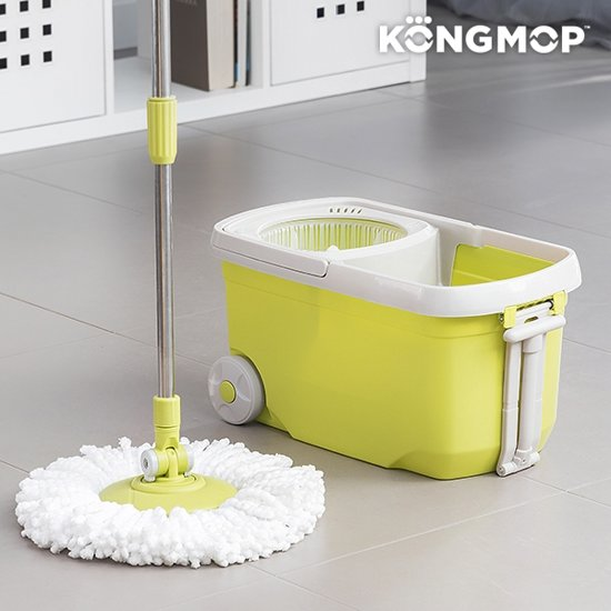 Bolcom Kong Mop Revolving Mop And Bucket With Wheels
