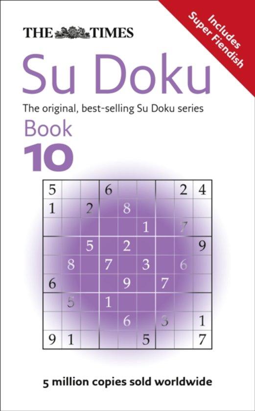 The Times Su Doku Book 10