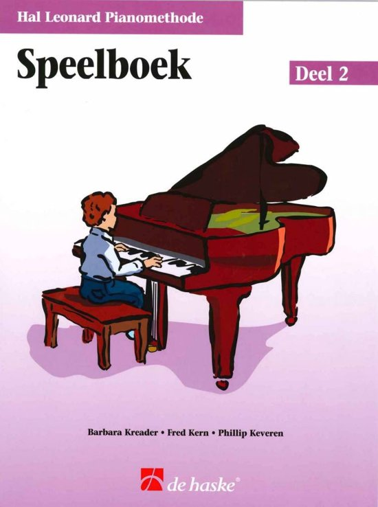 Speelboek De Hal Leonard Piano Methode 2
