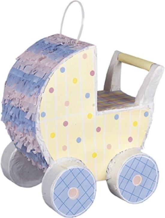 Kinderwagen pinata - Feestdecoratievoorwerp Valentinaa